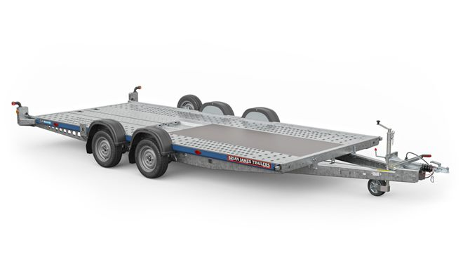 126-2212 -- 4.0m x 1.8m bed, 2.0t, .. 2 Axle, C4 Blue