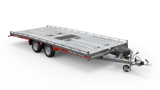 230-5442 -- 5.0m x 2.07m, 3.5t, 12in wheels, 2 Axle, T4 Transporter