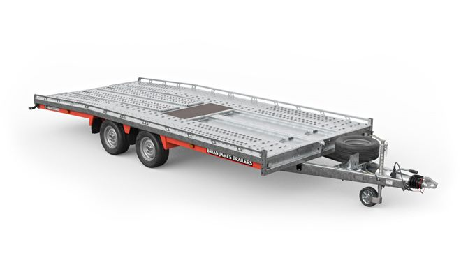 230-5443 -- 5.0m x 2.22m, 3.5t, 12in wheels, 2 Axle, T4 Transporter