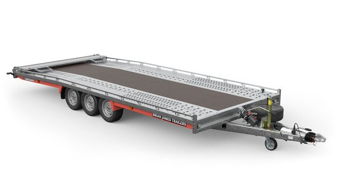 230-6563 -- 5.5m x 2.22m, 3.5t, 12in wheels, 3 Axle, T6 Recovery