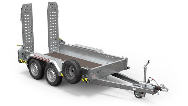 540-0110 -- 2.65m x 1.3m, 2.7t, .. 2 Axle, 13in wheel, CarGO All Plant