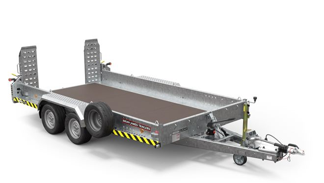 541-2320 -- 3.7m x 1.85m, 3.5t, .. 2 Axle, 13in wheel, CarGO All Plant Tilt-bed