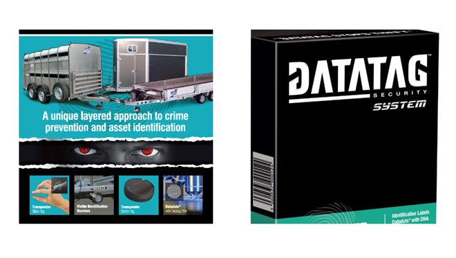 Datatag kit, provides an asset database registered transponder