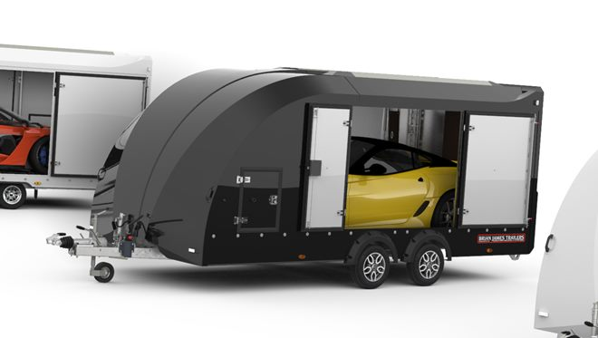 Exterior body colour option - Black (includes side panels, roof, nose and rear door)