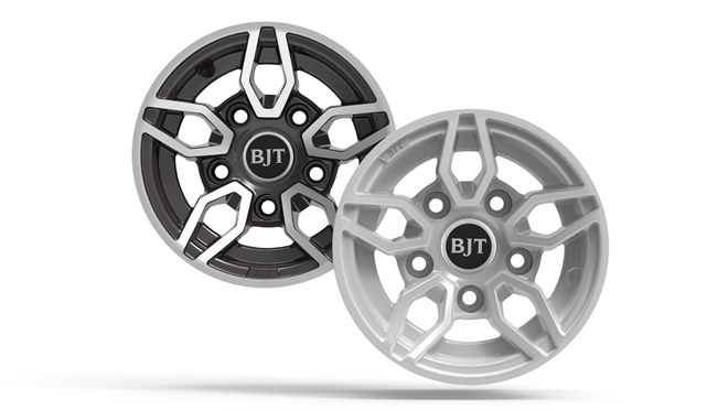 Additional Spare Wheel, Silver alloy wheel / tyre
