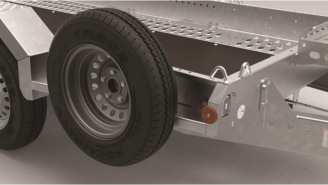 Spare wheel and mounting bracket