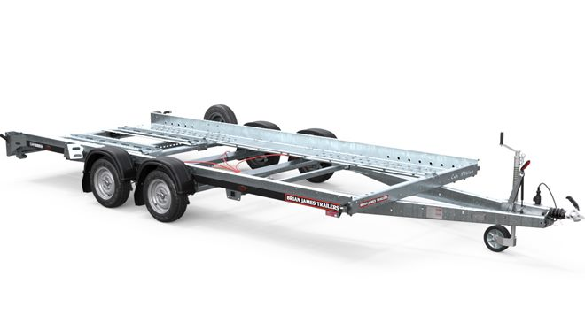 145-1210 -- 4.0m x 2.0m bed, 2.6t, 12in wheels, 2 Axle, Car Hauler2