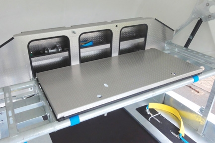 Tyre Rack / Fuel Storage / Work Bench