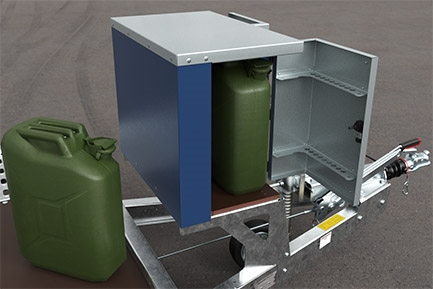 Fuel Can Storage Box