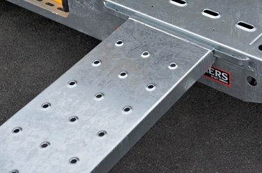 High Grip Punched Ramps
