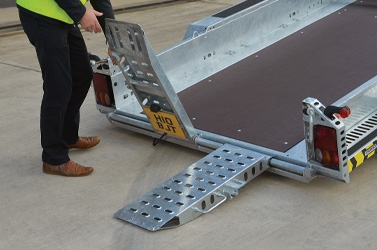 Adjustable Punched Ramps