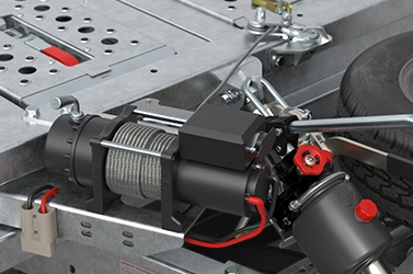 12V high capacity electric winch
