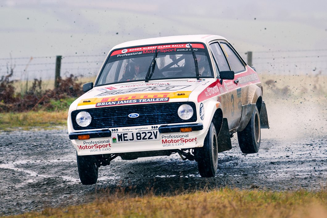 Puncture puts paid to RAC Rally victory