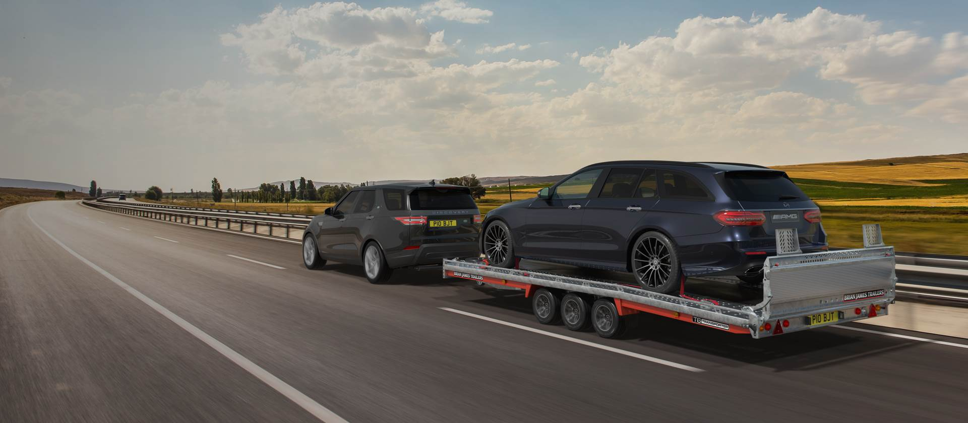 Market leading professional car transporters